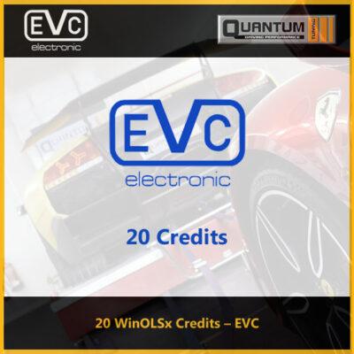 20 EVC WinOLSx Tuning Files Credits